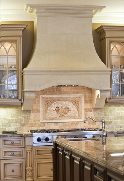 Bridget Stone Kitchen Hood