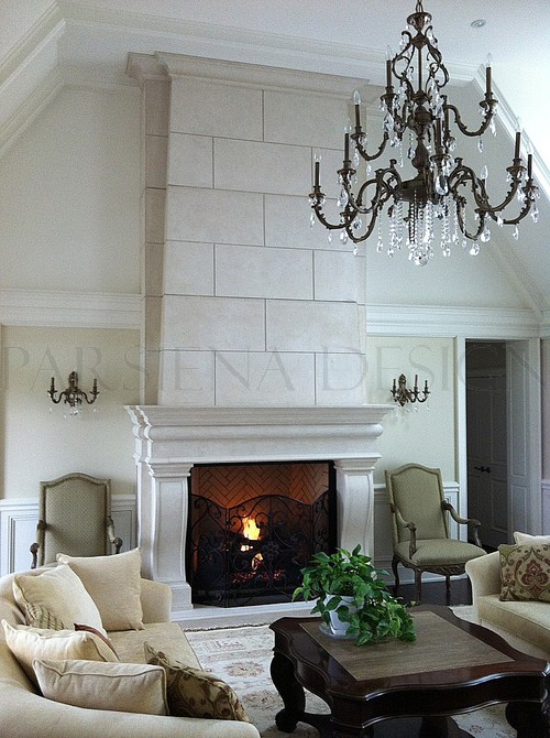 Playford fireplace mantel