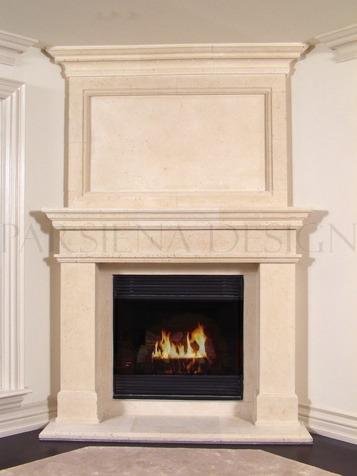 Cape Cod Style Custom Fireplace Mantels