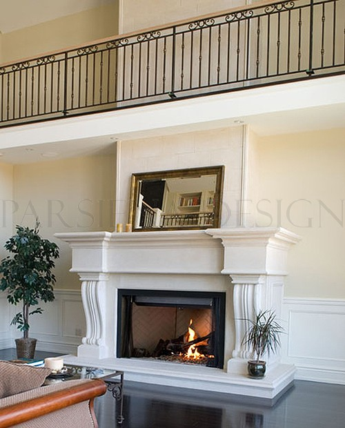 Bexdale Custom Design Fireplace Mantel Products